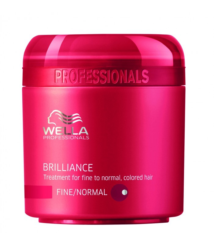 Mascarilla Color Protect Brilliance cabello fino