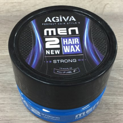 Cera Capilar Hombre Hair Wax 2 New Strong Agiva 175ml