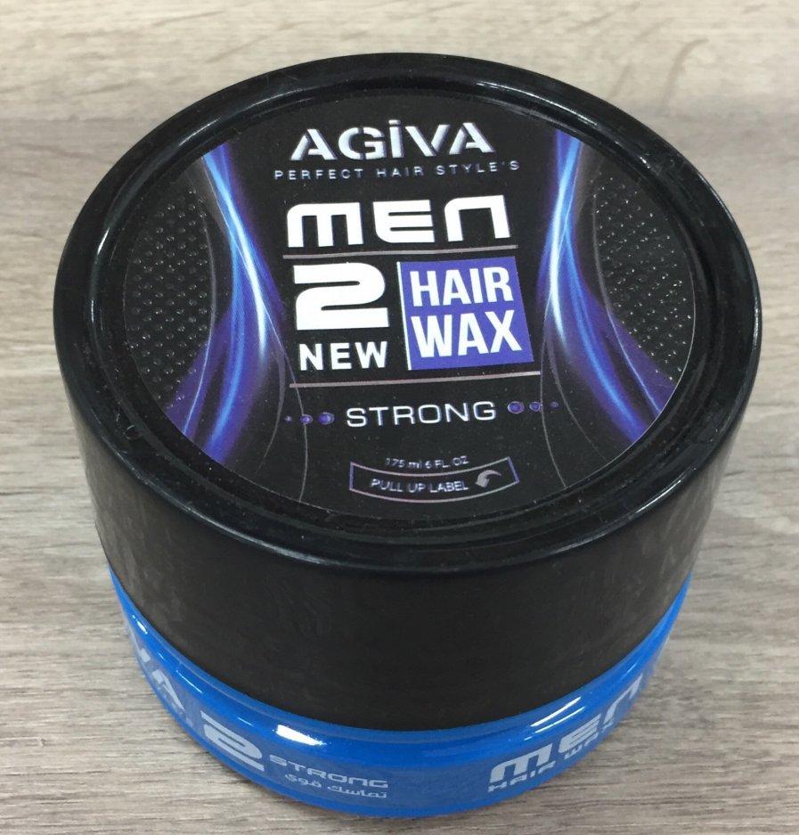 Cera Capilar Hombre Hair Wax 2 New Strong Agiva 175ml