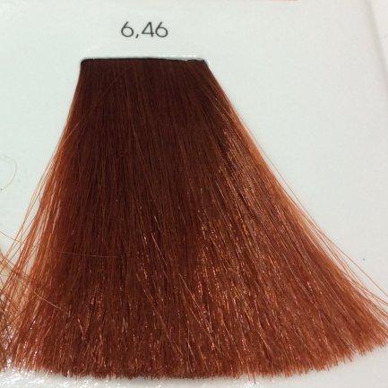 Tinte Cabello Sin Amoniaco Inoa LOreal 6,46 Rubio Oscuro Cobrizo Rojo