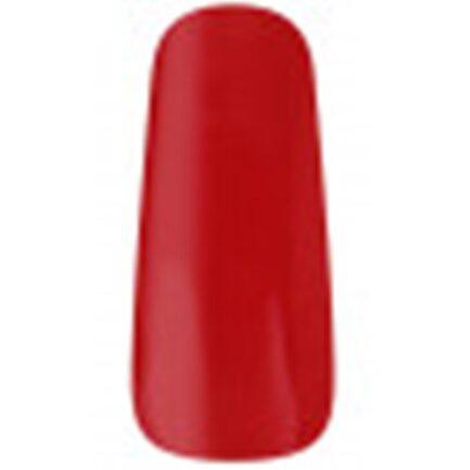 uña de muestrario esamltada con el color rojo