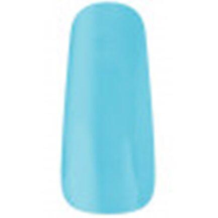 uña muestrario esmaltada de color azul claro