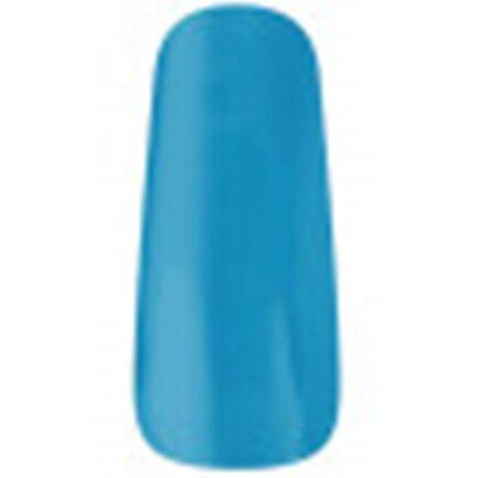 uña muestrario esmaltada color azul claro